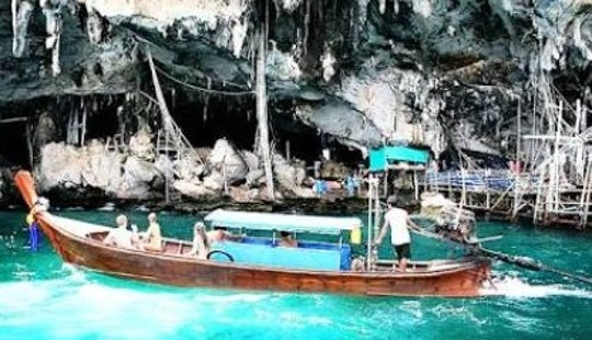 Private Tour On A Long Tail Boat In Phi Phi Island, Thailand!