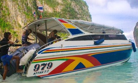 Experience The Beauty Of Phi Phi Island On A Speed Boat!