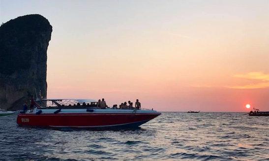 Fantastic Speedboat Tour In Phi Phi Island, Thailand!