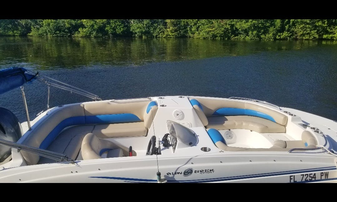 Deck Boat rental in Sunny Isles, Haulover