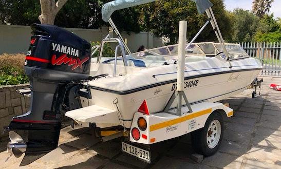 Panache 1850 Speedboat 200hp Vmax Yamaha Motor Rental In Knysna