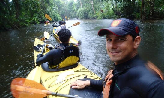 A Unique Guided Kayaking Experience Offered In Rio De Janeiro, Brazil