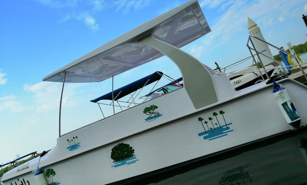 Electric Green Boat (Solar Powered) in Abu Dhabi