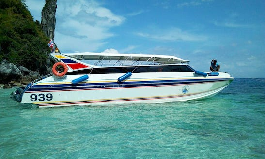 One Day Hong Island Tour By Speed Boat From Ao Nang, Thailand