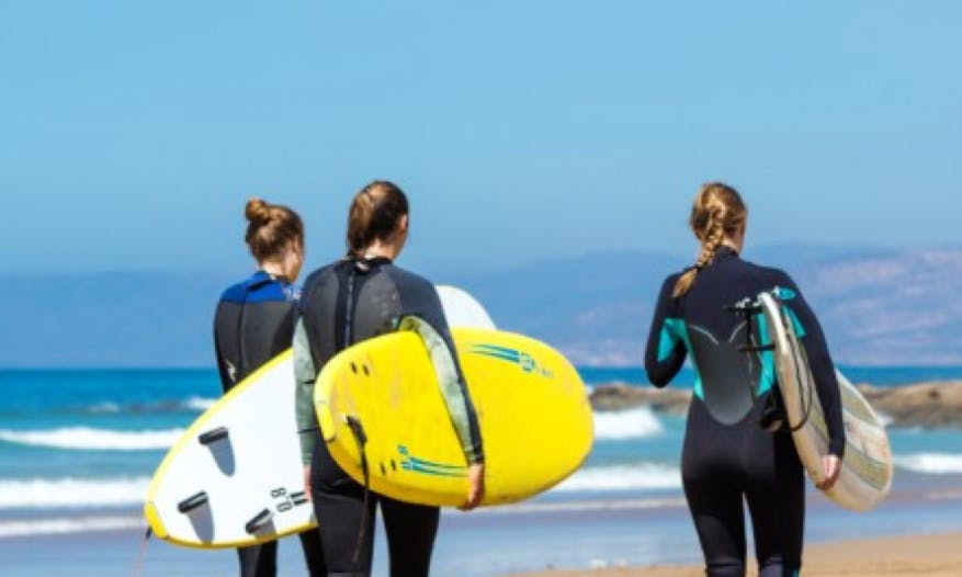 Surf Coaching Package in Agadir, Morocco