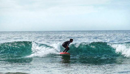 Fun Surfing Lessons With Qualified Instructors In Tamraght, Morocco!