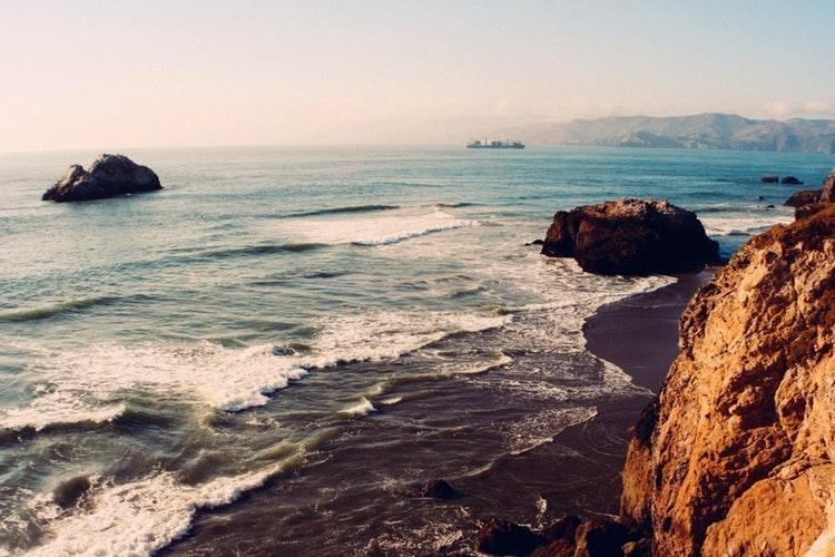 Beach in SF
