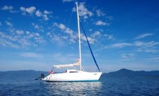 Let's Enjoy Sailing In Santa Catarina, Brazil