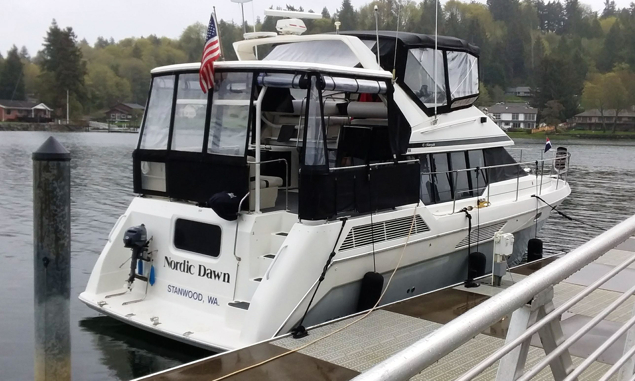Bayliner 4387 Motor Yacht Charter for Up to 20 People in Seattle, WA