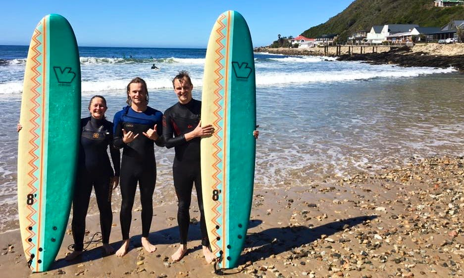 Surf Lessons with Professional Instructor in George Western Cape, South Africa