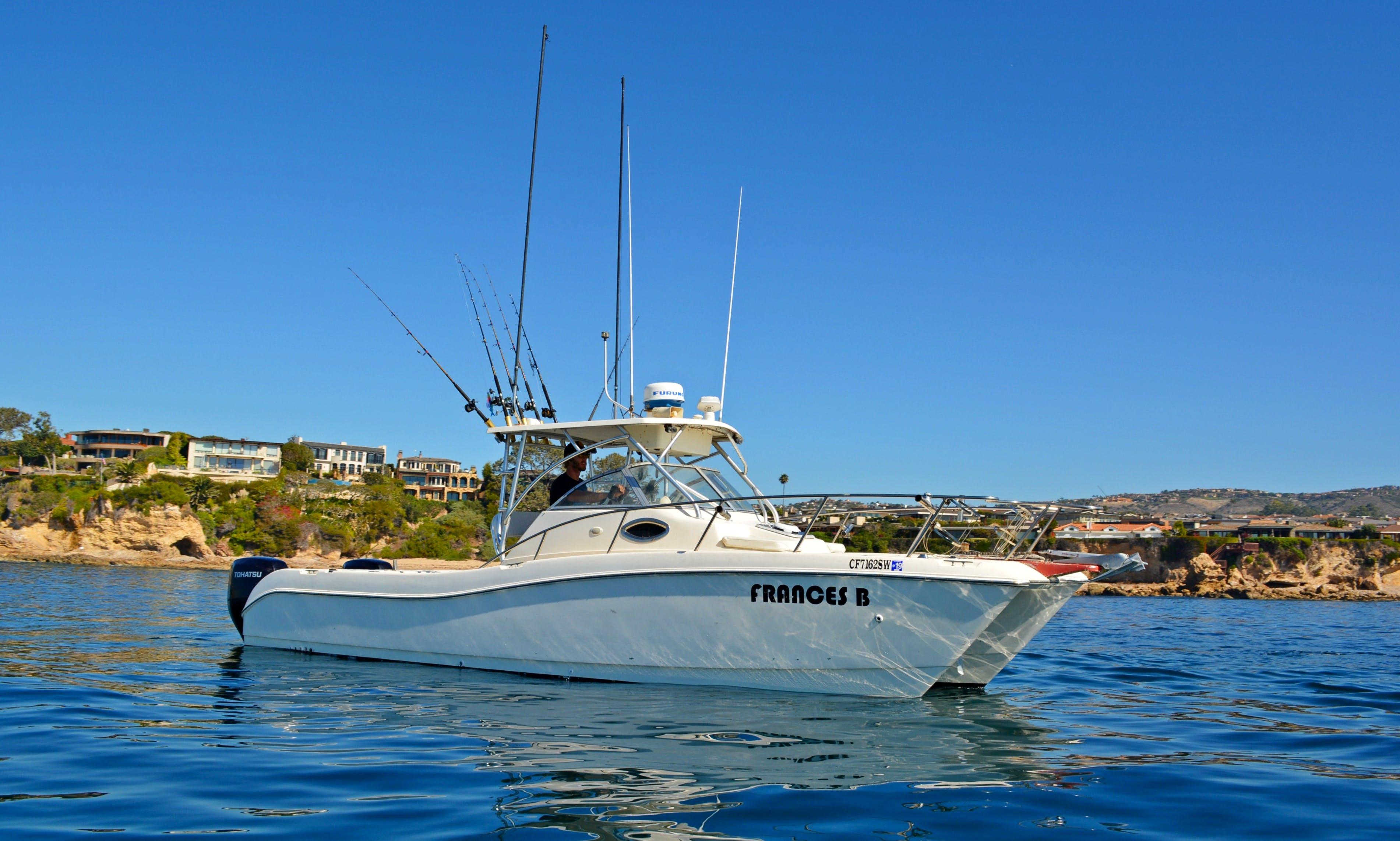 Fishing Charters around Newport Beach, Huntington, and Dana Point