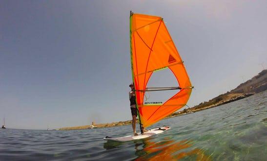 Windsurfing Course 6 Hours In Mellieha, Malta
