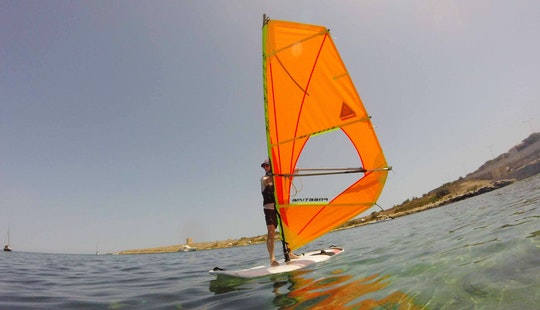 Windsurfing Course 6 Hours In Mellieha, Malta