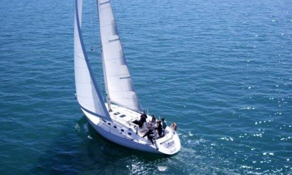 """Charter the 46ft """"Hanois"""" Dufour Cruising Monohull In Granville, France"""