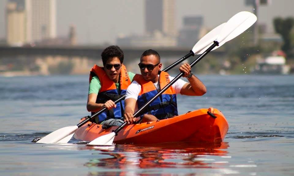 EgyRow Nile Kayaking tour