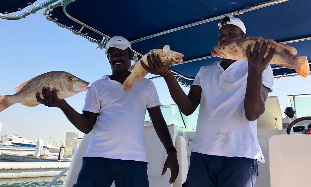 Dubai fishing charter
