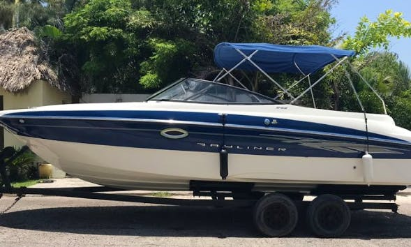 Bayliner Bowrider Yacht for up to 12 People in Alvarado