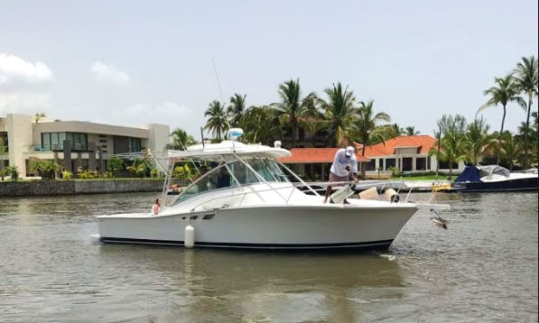 32' Luhrs Motor Yacht for 15 People in Alvarado, Mexico