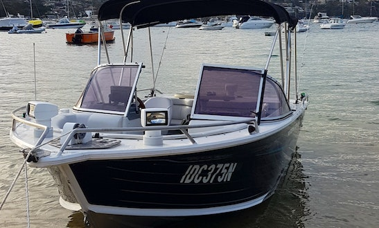 Quintrex Bowrider For Rental In Sydney Harbour!