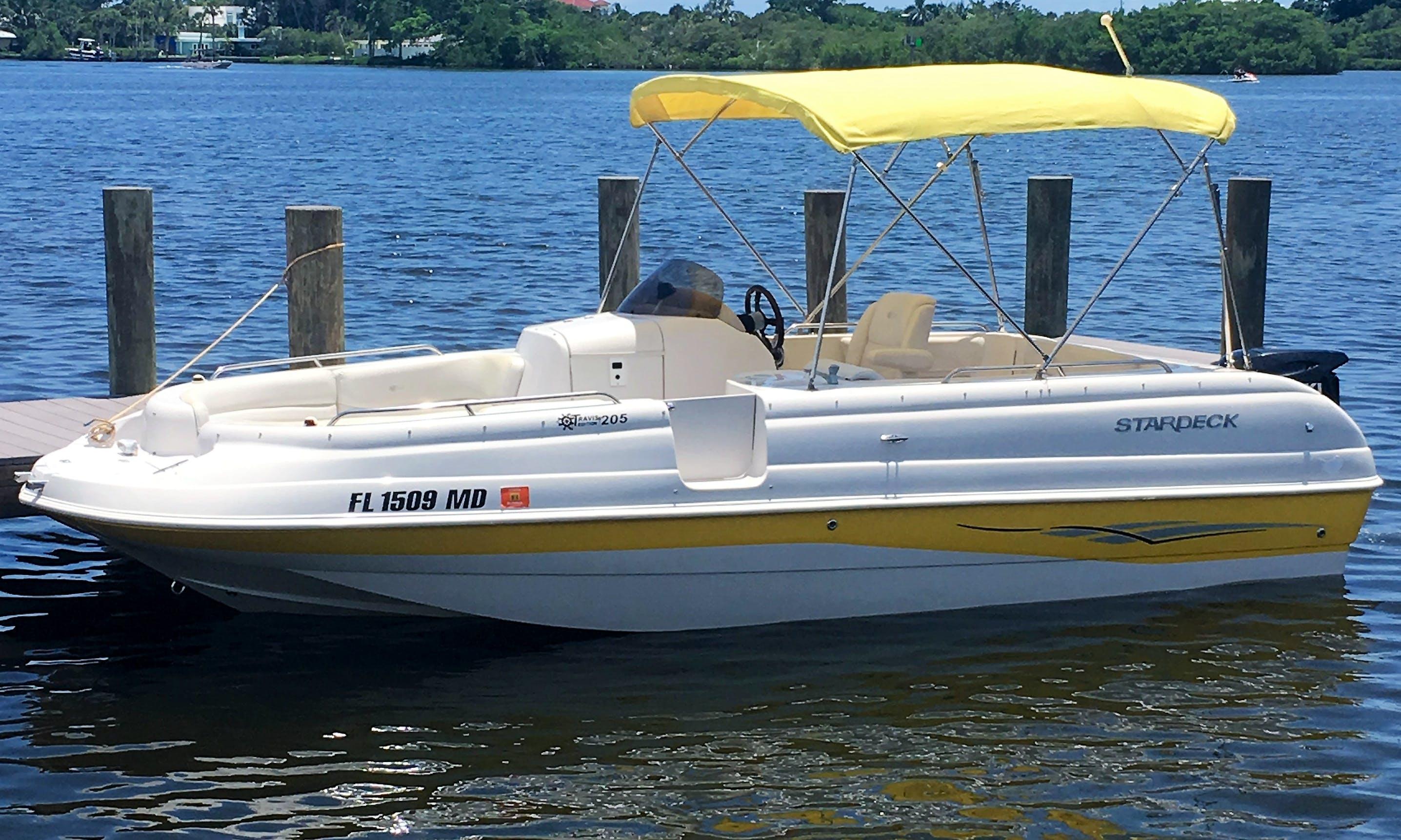 Stardeck 205 Bowrider Rental in Sarasota, Florida