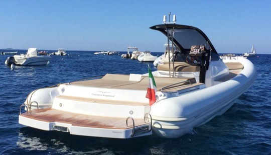 38ft Elegant Rib Boat, Go On A Speed Boat Ride In Ibiza And Formentera, Spain. Best Price In The Market