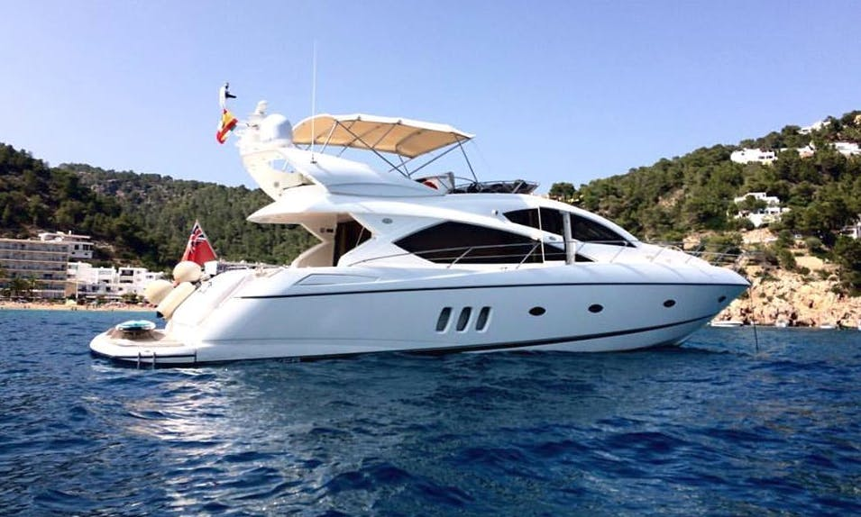 Enjoy The Pleasure of Riding A Yacht in IBIZA, Spain!