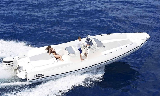 Drive A Rib Boat, Fun Filled Boating Day In Ibiza, Spain!