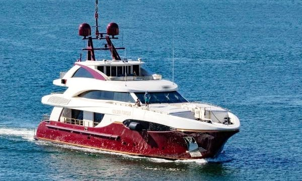 Golden Touch Motor Yacht rental in Monaco