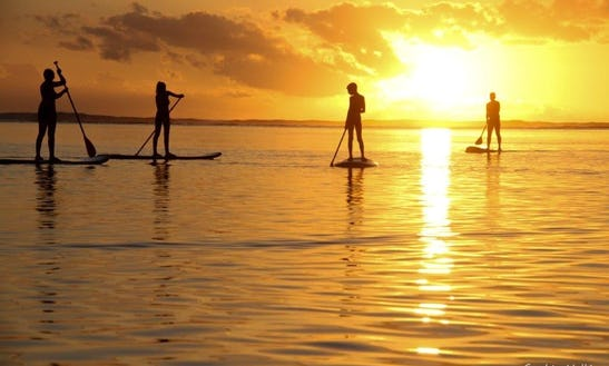 Stand Up Paddleboard For Rent With Guide In La Saline-les-bains, Réunion