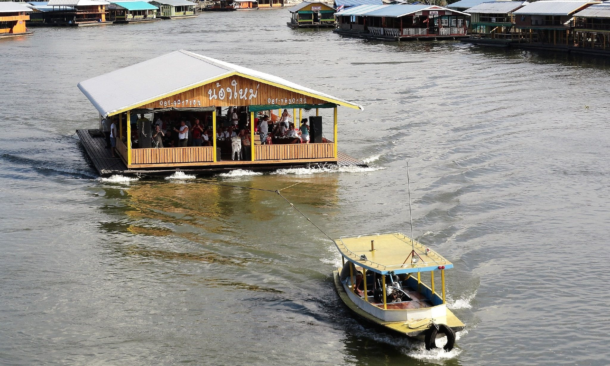 Enjoy a Private Dinner Cruise & Disco Dancing On The River Kwai!