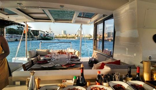 Cruising Catamaran Rental In Barcelona
