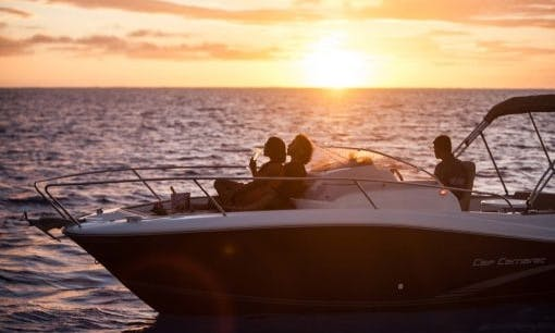 Charter a boat in Albion Club Med, Mauritius for fishing, whale watching, and other cruising