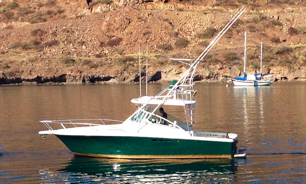 30' Luhr's Sportfisher Private Boat Charter for Up to 8 People in San Carlos, Mexico