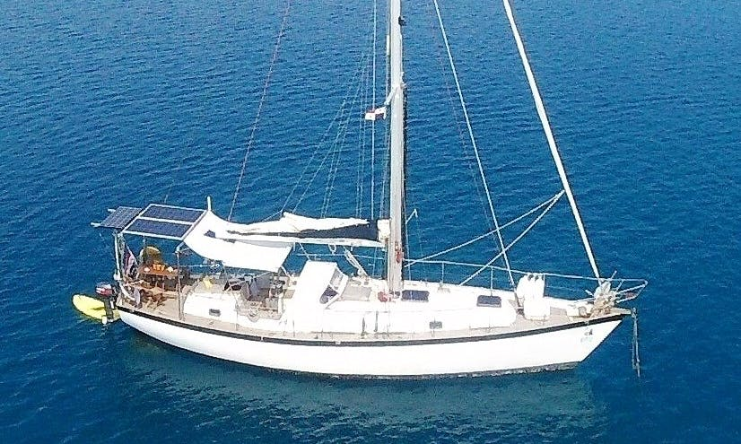 Classic Cutter 44' Sailing Boat Charter for Up to 5 People in San Blas islands, Panama