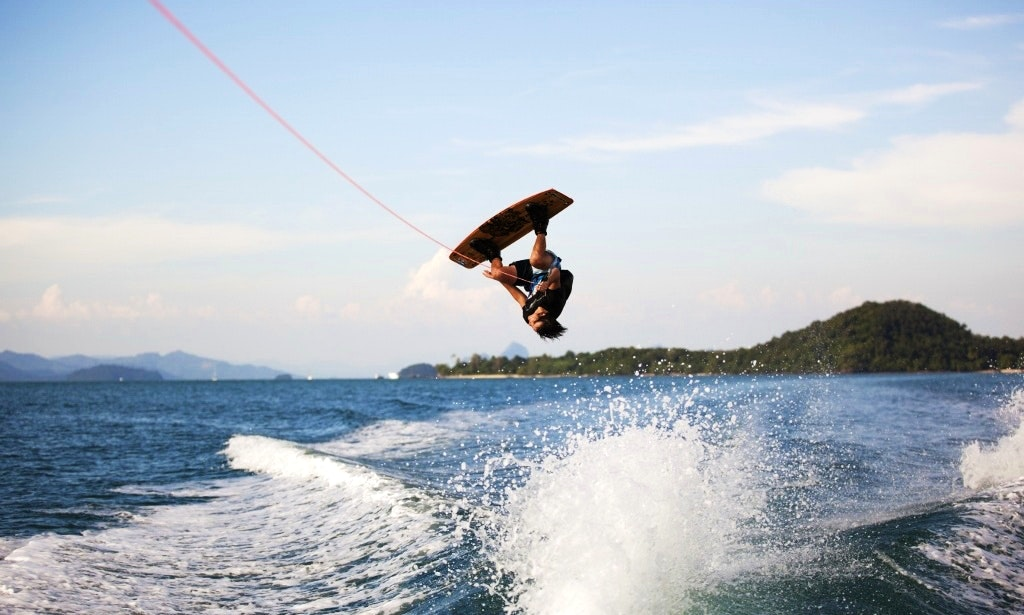 Wakeboarding rentals and charters in Thailand