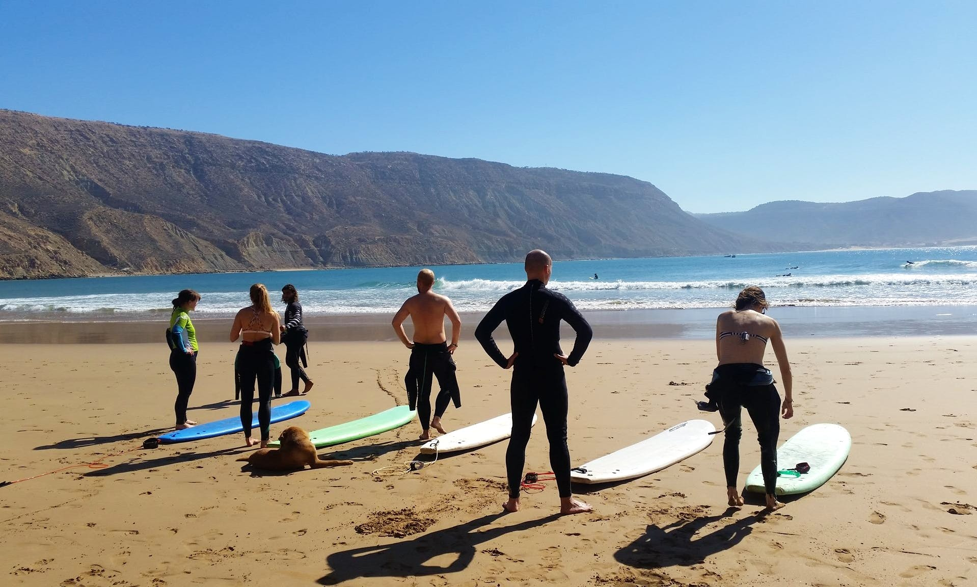 Surfing Lesson with Said in Agadir, Morroco