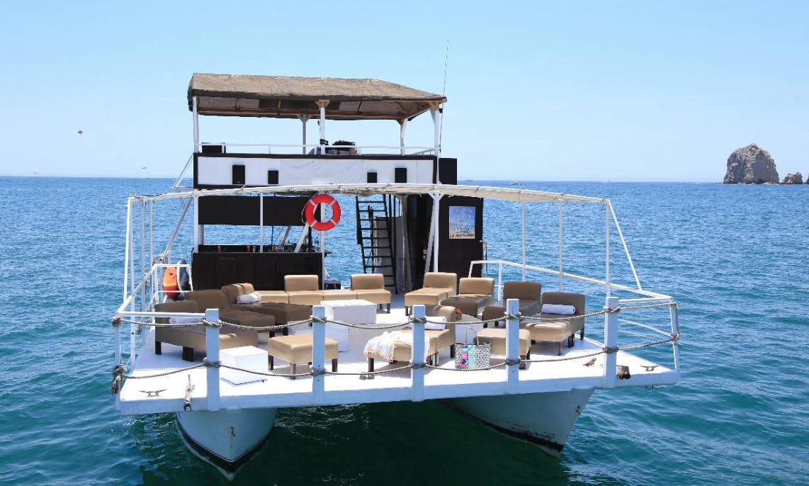Enjoy Private Catamaran Tours in Cabo San Lucas, Mexico : captain + fuel + handeck included in quote..