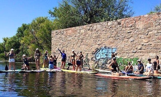 Fun Sup Adventure In Mesa, Arizona!