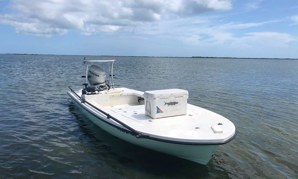 Inshore Fishing Charter on a 18ft East Cape Lostmen for 4 People in Melbourne, Florida