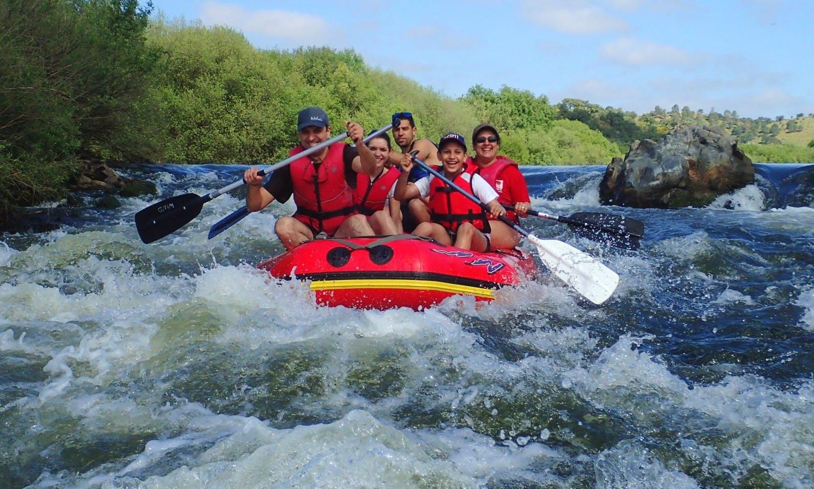 Whitewater Rafting in Rio Grande do Sul, Portugal