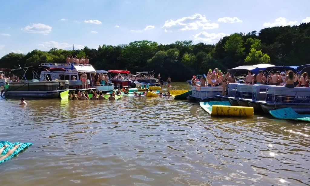 Lake Austin Party Barge