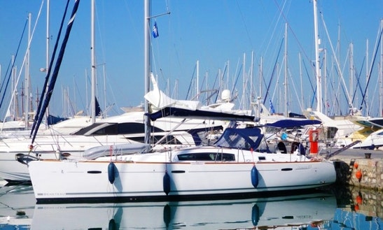 Beneteau Oceanis 43 Charter Sleeps 8 People In Athens, Greece