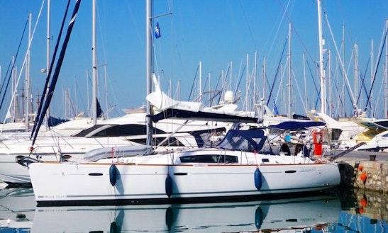 Beneteau Oceanis 43 Charter Sleeps 8 People In Athens, Greece