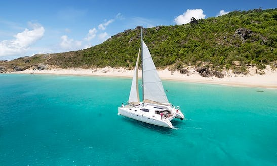 Nautitech 47 Cruising Catamaran Charter For Up To 16 People In Gustavia, Saint Barthélemy
