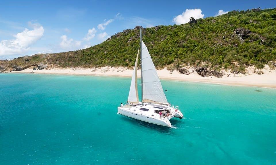 Nautitech 47 Cruising Catamaran Charter for Up to 16 People in Gustavia, Saint Barthélemy