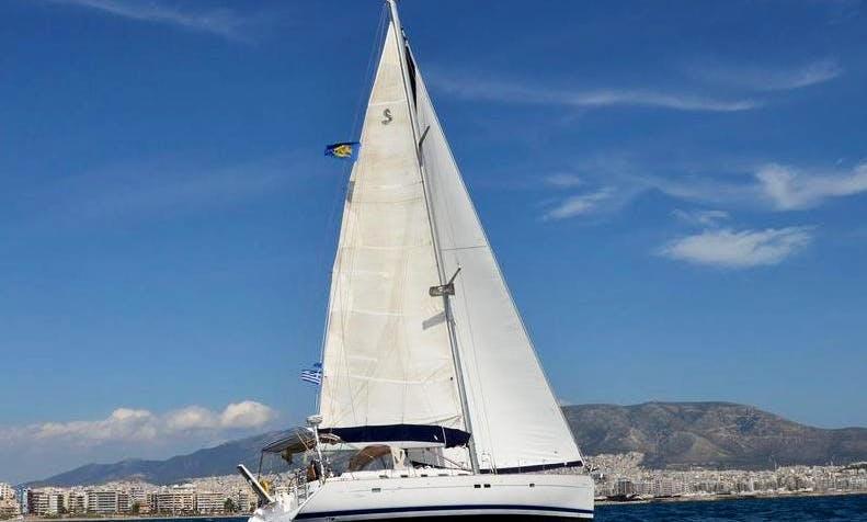 Charter Beneteau Oceanis Clipper 523 in Levkas, Greece