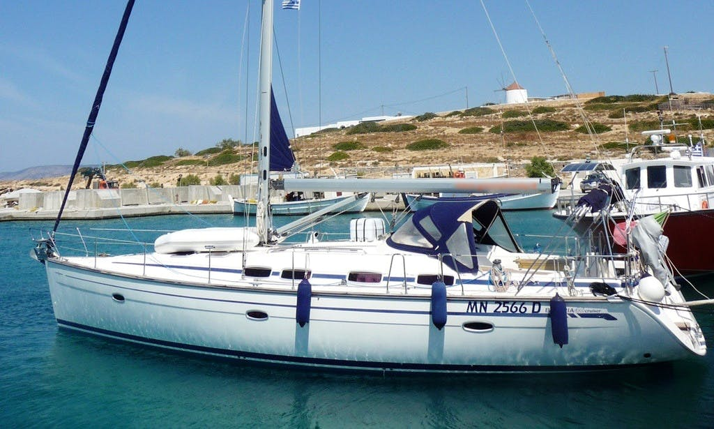 A Charter Sailing Holiday - Bavaria 46 Cruiser in Dodecanese