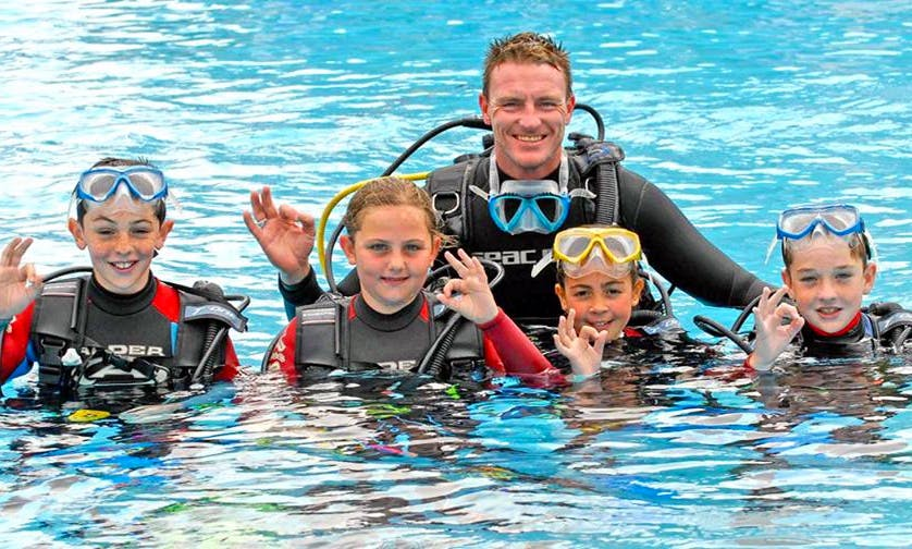 Introduction to Scuba Diving (For 8 Years Old and Above) in Hurghada