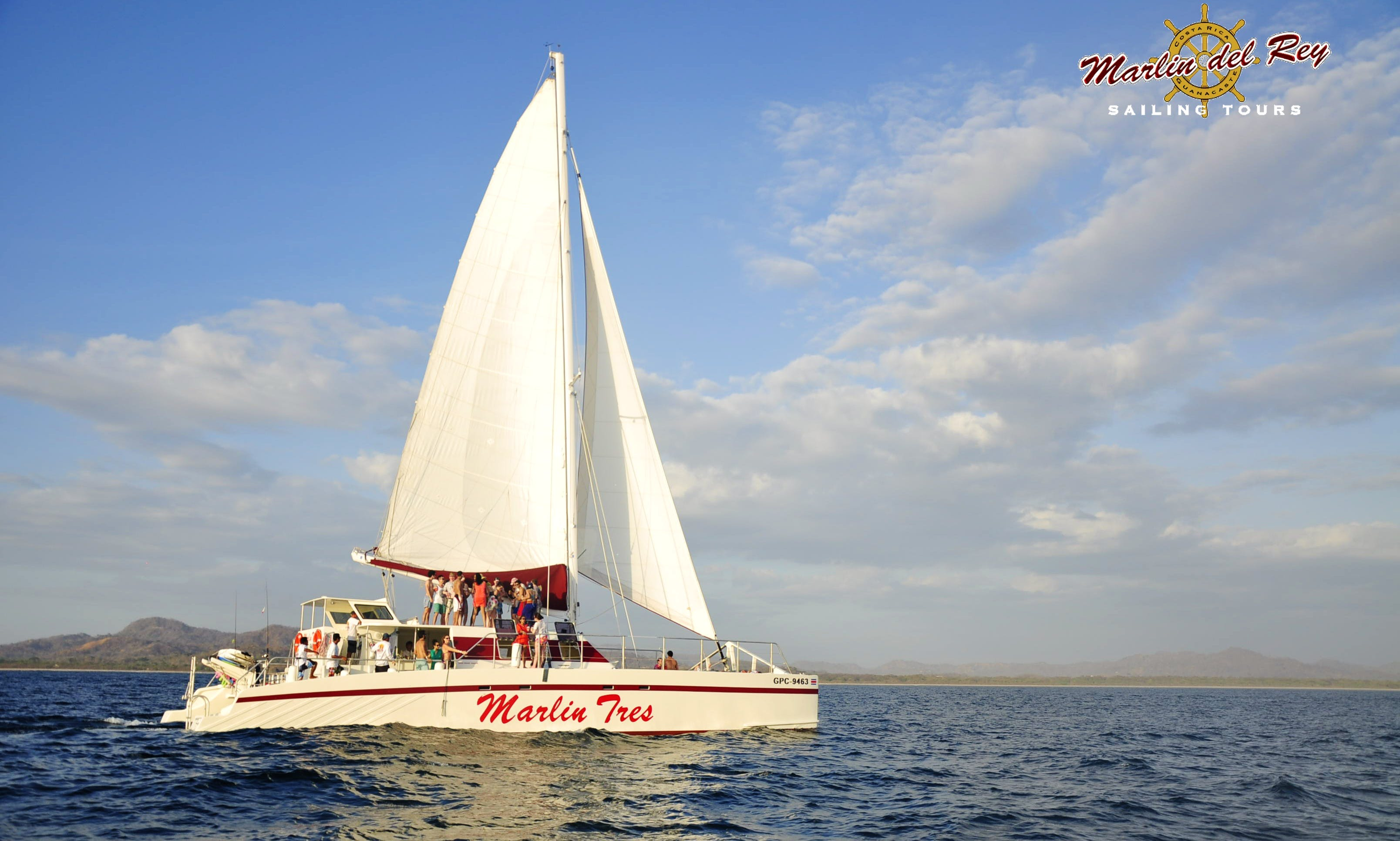 """Marlin Tres"" 65ft Sailing Catamaran in Playa Flamingo"