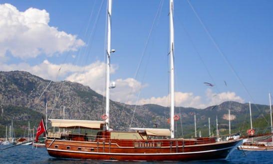 Yacht Biliz Gulet Daysailer Rental In Marmaris